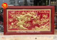 Địa chỉ bán tranh vinh hoa phú quý mạ vàng tại hà nội (1)